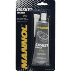 Герметик прокладки MANNOL Gasket Maker 230°C силиконовый серый (9913) (85г)