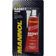Герметик прокладки MANNOL Gasket Maker 300°C силиконовый красный (9914) (85г)