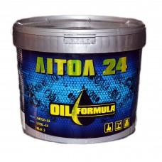 Смазка пластичная OIL Formula Литол 24 (3л)
