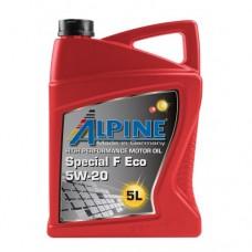 Автомобильное моторное масло Alpine Special F Eco 5W-20 5л