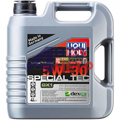 Автомобильное моторное масло Liqui Moly Special Tec DX1 5W-30 20968 4л