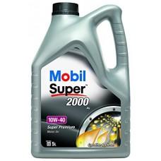 Автомобильное моторное масло Mobil Super 2000 EU 10W-40 5л