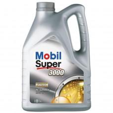 Автомобильное моторное масло Mobil Super 3000 EU 5W-40 5л