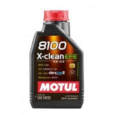 Автомобильное моторное масло MOTUL 8100 X-clean EFE C2/C3 5w-30 1л