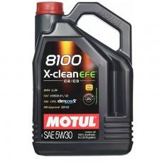Автомобильное моторное масло MOTUL 8100 X-clean EFE C2/C3 5w-30 5л