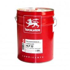 Индустриальное гидравлическое масло WOLVER HLP32 20л