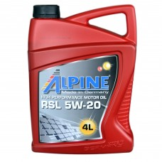 Масло моторное Alpine RSL 5W-20 (4л)