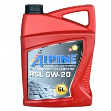 Масло моторное Alpine 5W-20 RSL (5л)