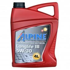 Масло моторное Alpine Longlife III C3 5W-30 (4л)