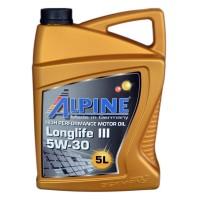 Масло моторное Alpine Longlife III C3 5W-30 (5л)