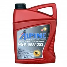 Масло моторное Alpine PSA C2 5W-30 (5л)