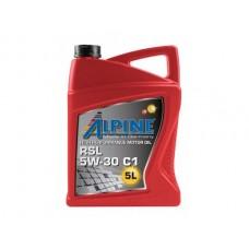Масло моторное Alpine 5W-30 RSL C1 (5л)
