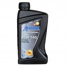 Масло трансмиссионное ALPINE Gear Oil GL-5 85W-140 (1л)
