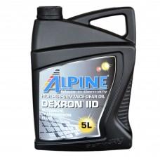 Масло трансмиссионное Alpine ATF Dexron II D (5л)