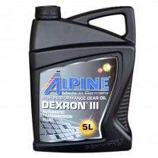 Масло трансмиссионное Alpine ATF Dexron III (5л)