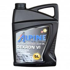 Масло трансмиссионное Alpine ATF Dexron VI (5л)