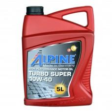Масло моторное Alpine Turbo Super 10W-40 (5л)