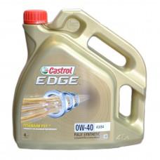 Масло моторное Castrol Edge Titanium 0W-40 (4л)