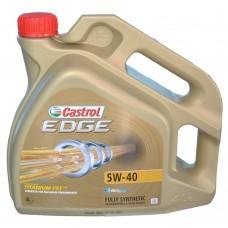 Масло моторное Castrol Edge Titanium 5W-40 (4л)