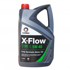 Масло моторное Comma X-FLOW G  SYNT 5W-40 (5л)