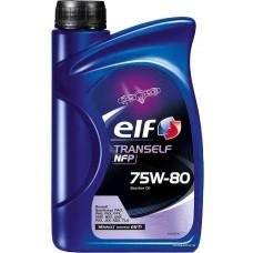 Масло ELF TRANSELF NFP 75w-80 (1л)