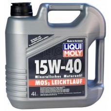 Масло моторное Liqui Moly MoS2 Leichtlauf 15W-40 (4л)