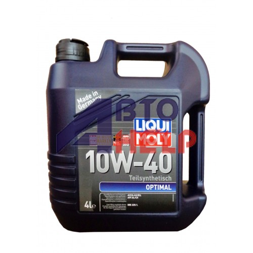Масло моторное LIQUI MOLY OPTIMAL 10W-40 (4л)