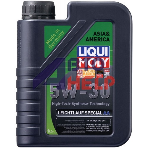 Масло моторное LIQUI MOLY LEICHTLAUF SPECIAL AA 5W-30 (1л)