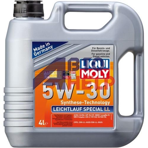 Масло моторное LIQUI MOLY LEICHTLAUF SPECIAL LL 5W-30 (4л)