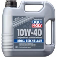 Масло моторное Liqui Moly MoS2 Leichtlauf 10W-40 (4л)