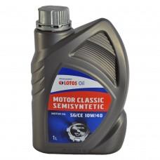 Масло моторное Lotos MOTOR CLASSIC  SEMISYNTETIC 10W-40 (1л)