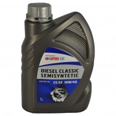 Масло моторное Lotos DIESEL CLASSIC SEMISYNTETIC 10W-40 (1л)