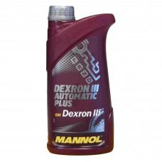 Масло трансмиссионное MANNOL DEXRON PLUS ATF III (1л)