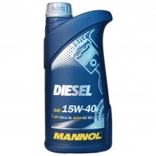Масло моторное MANNOL Diesel CF-4 15w-40 (1л)