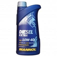 Масло моторное MANNOL Diesel EXTRA 10w-40 (1л)