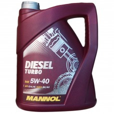 Масло моторное MANNOL Diesel TURBO CG-4/SJ 5W-40 (5л)