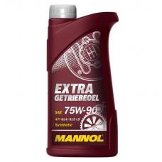 Масло трансмиссионное MANNOL EXTRA GETRIEBEOEL GL5 75W-90 (1л)