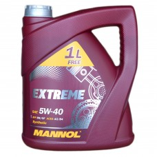 Масло моторное MANNOL Extreme SL/CF 5w-40 (4л)