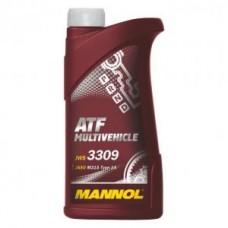 Масло трансмиссионное MANNOL Multivehicle ATF (1л)