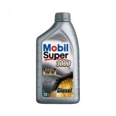 Масло моторное Mobil Super 3000 X 1 DIESEL 5W-40 (1л)