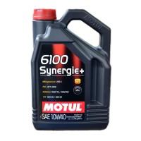 Масло моторное MOTUL 6100 Synergie+ 10w-40 (5л)