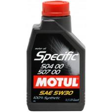 Масло моторное MOTUL Specific 504.00-507.00 5w-30 (1л)