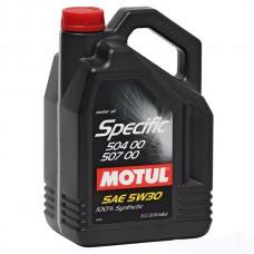 Масло моторное MOTUL Specific 504.00-507.00 5w-30 (5л)