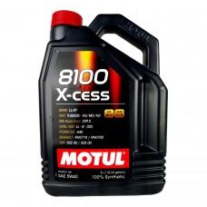 Масло моторное MOTUL 8100 X-cess 5w-40 (5л)