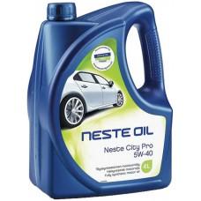 Масло моторное Neste City Pro 5W-40 (4л)