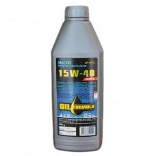 Масло моторное универсальное OIL Formula Super 15w40 SF/CC (1л)