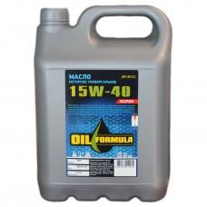 Масло моторное универсальное OIL Formula Super 15w40 SF/CC (5л)