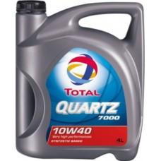 Масло моторное TOTAL QUARTZ 7000 10W-40 (4л)