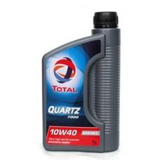 Масло моторное TOTAL QUARTZ 7000 Diesel 10W-40 (1л)