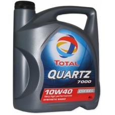 Масло моторное TOTAL QUARTZ 7000 Diesel 10W-40 (4л)